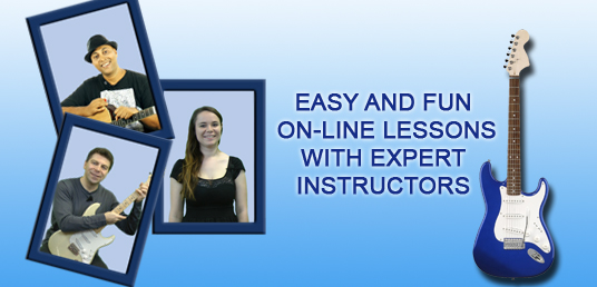Easy and fun on-line lesson with expert instructor